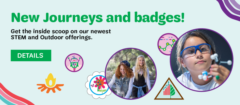 New Journeys and Badges